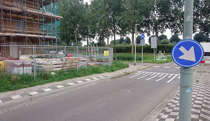 Fietspad Groene Zoom / Palissander / Oudelandshoek