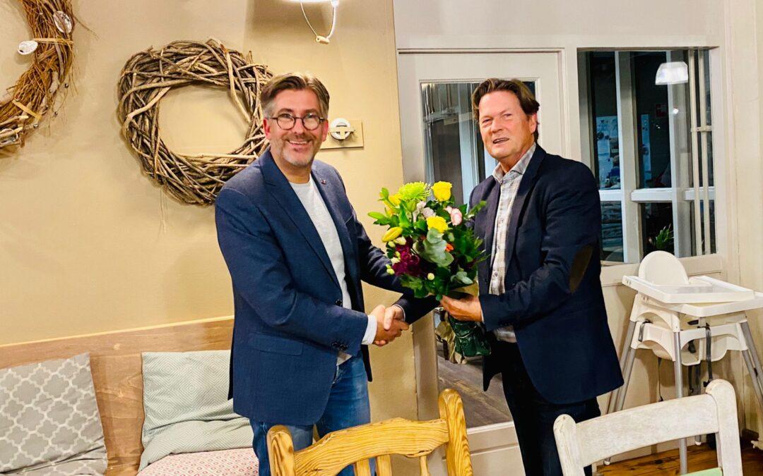 Piet Sleeking Erelid van Beter Voor Dordt