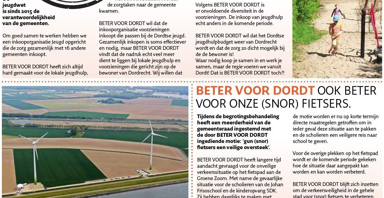 Beter Voor Dordt Nieuwsbrief december 2017