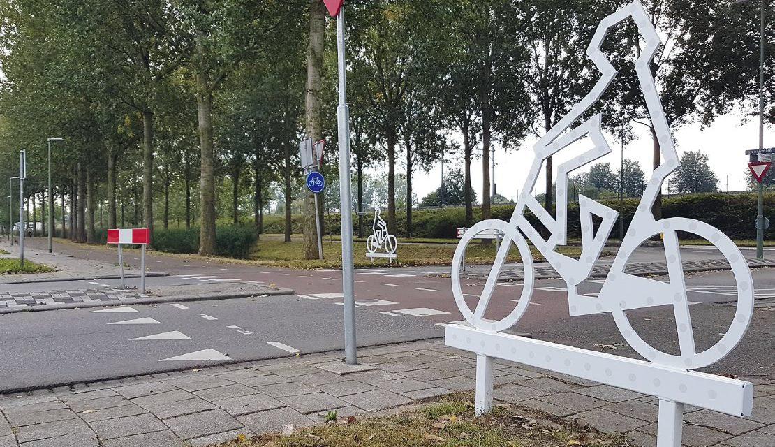 Veilige fietsoversteek