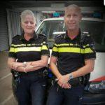 Uw wijkagenten Anja Knoops en Evert Muller