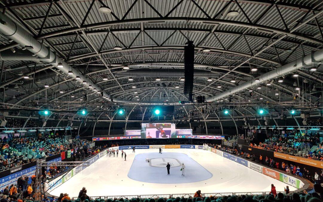 WK-Shorttrack 2021 in Dordrecht